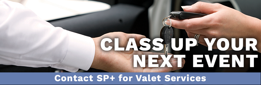 Class up your next event. Contact SP+ for Valet Services in Boston & New England.