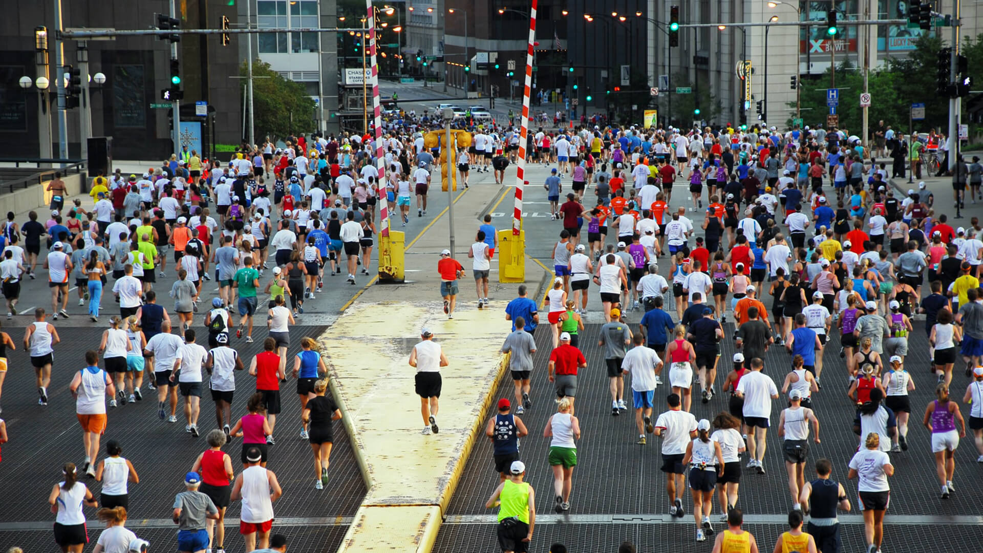 chicago marathon event parking