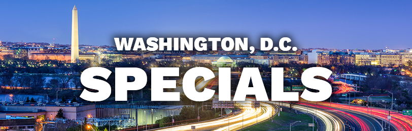 Whether you live, work, or just play in Washington, D.C., finding convenient parking is practically impossible. When you take advantage of Washington, D.C. parking specials and discounts, park right next to your desired destination at an affordable price. Choose the Parking.com specials that best suit your Washington, D.C. parking needs.