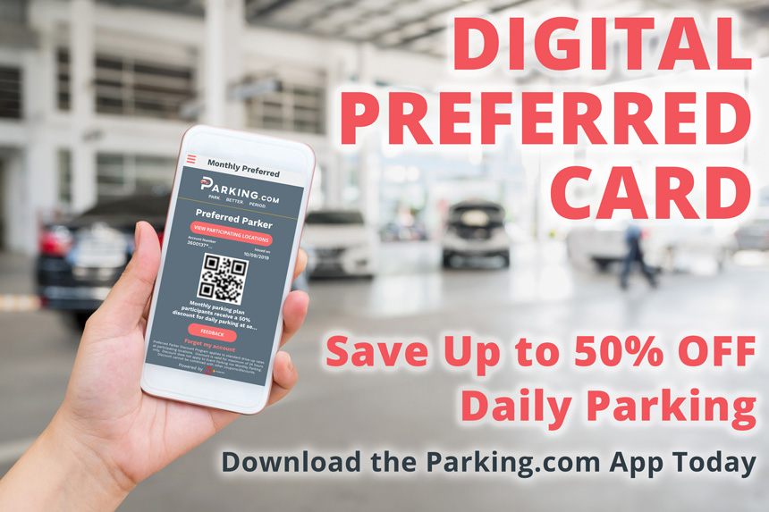 Save Up to 50% off Daily Parking