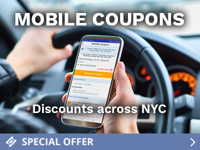 Find Discounts on NYC Daily Parking with these unbeatable Mobile Parking Coupons across New York.